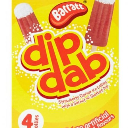 Barratt Dip Dab Strawberry Flavour Ice Lollies 268g