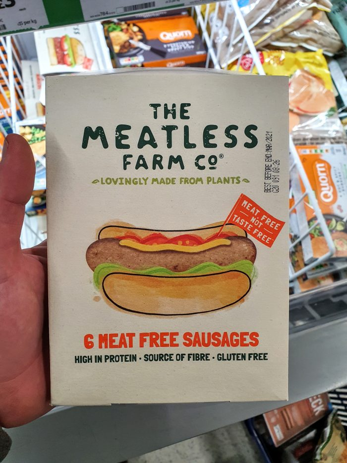 The Meatless Farm Co. 6 Meat Free Sausages Frozen