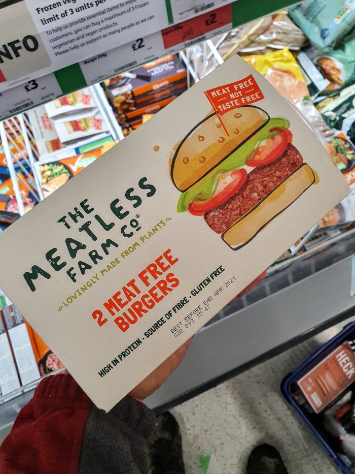 The Meatless Farm Co. 2 x Meat Free Burgers