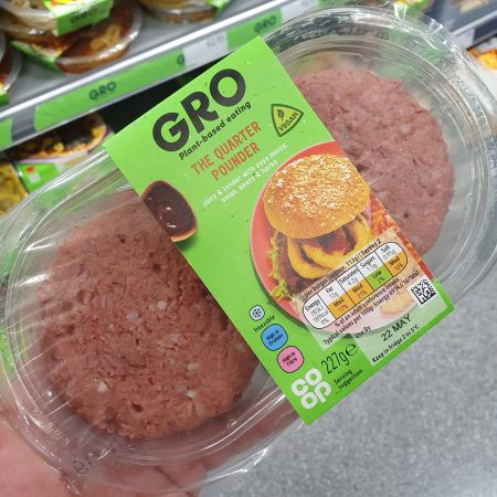 GRO The Quarter Pounder Burger 227g
