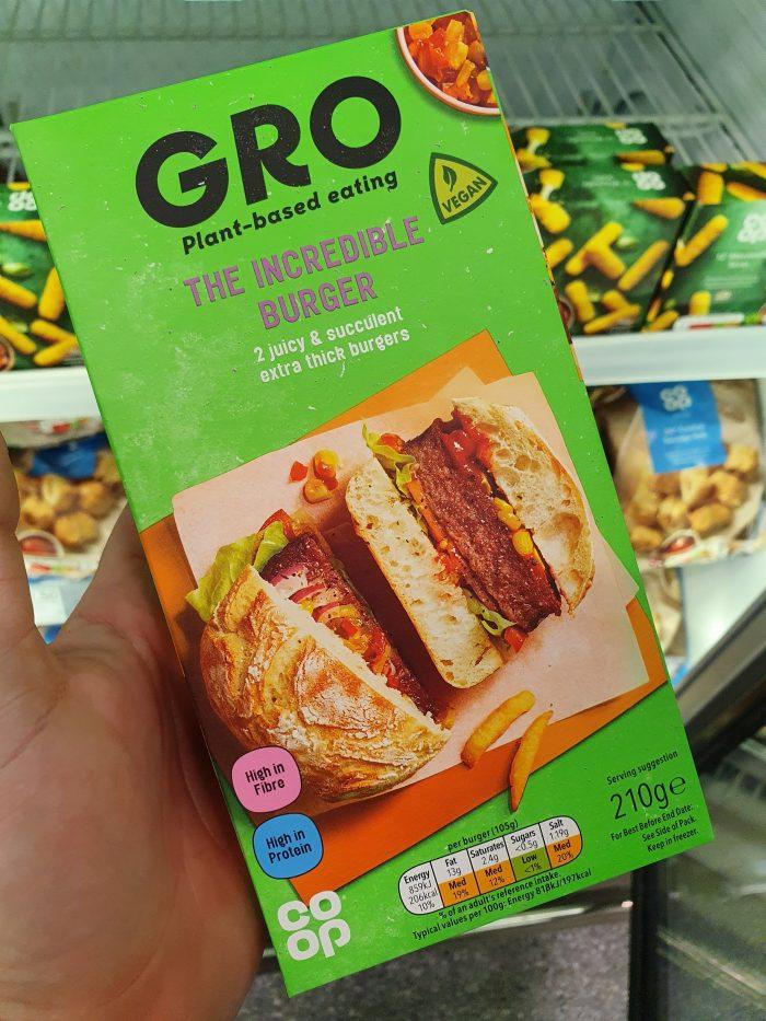 Gro The Incredible Burger 210g