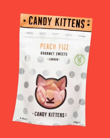 Candy Kittens Peach Fizz Gourmet Sweets