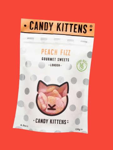 Candy Kittens Peach Fizz Gourmet Sweets