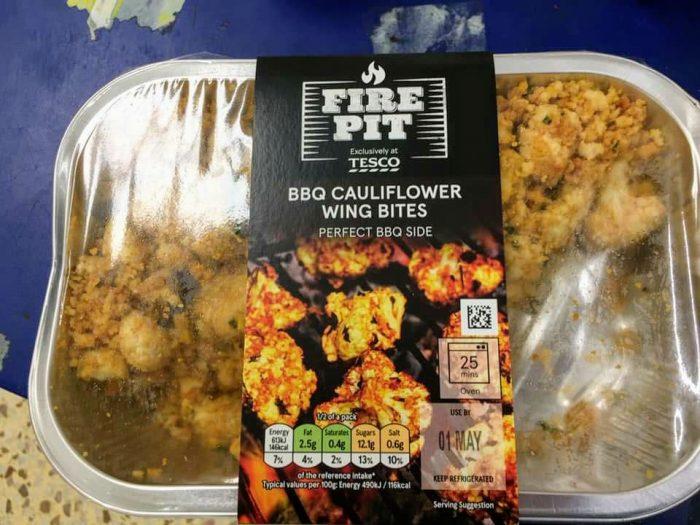 Fire Pit BBQ Cauliflower Wing Bites