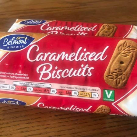 Belmont Caramelised Biscuits