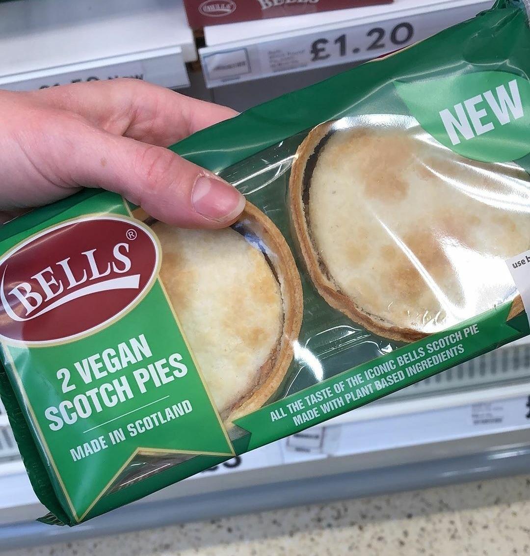 Bells 2 Vegan Scotch Pies | Vegan Food UK
