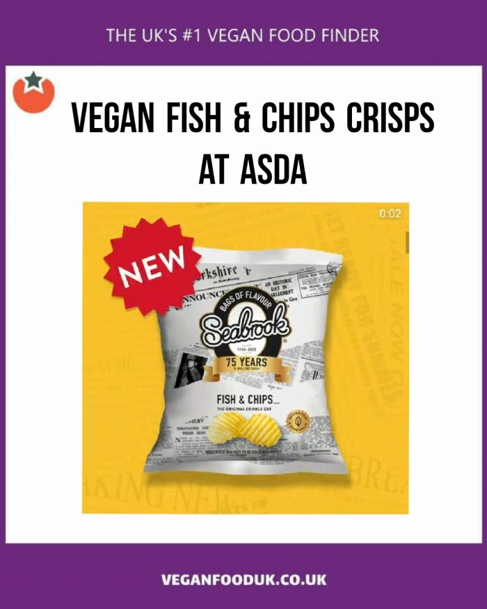 New Vegan Fish & Chips Flavoured Crisps Have Launched at UK Supermarkets