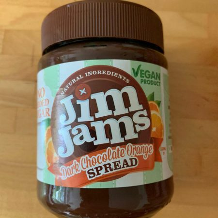 Jim Jams Dark Chocolate Orange Spread 330g