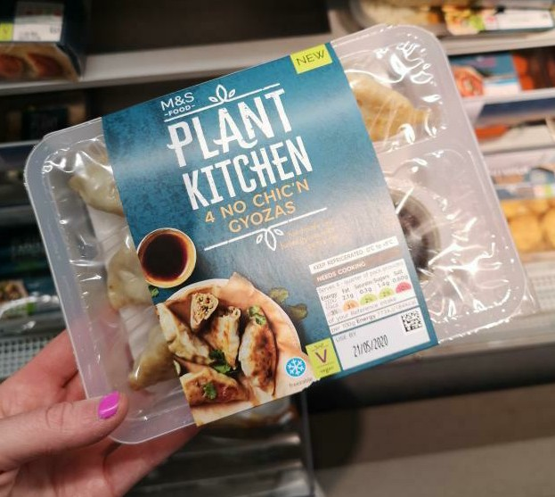 Plant Kitchen 4 No Chic N Gyozas Vegan Food Uk