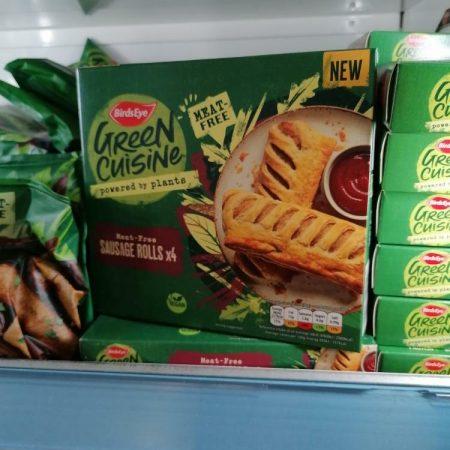 BirdsEye Green Cuisine Meat Free Sausage Rolls