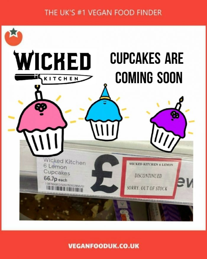 Vegan Cupcakes Are Coming to Tesco
