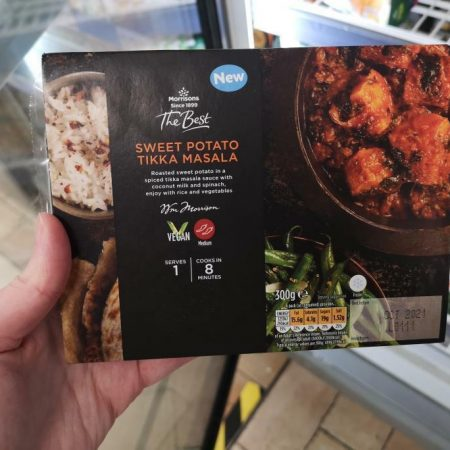 Morrisons Sweet Potato Tikka Masala 300g
