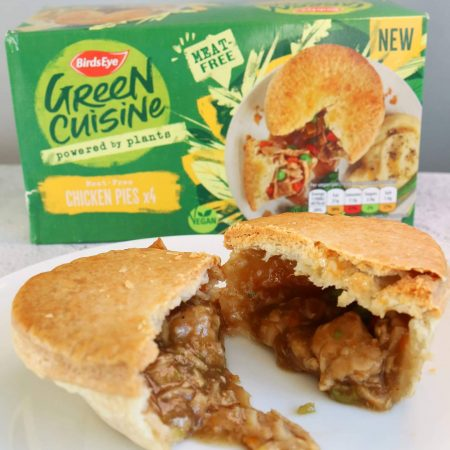 Birds Eye Green Cuisine Meat Free Chicken Pies 4 Pack 620g