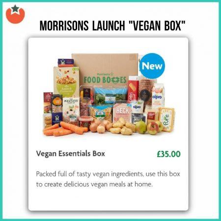 Morrisons Launch A Vegan Essentials Box