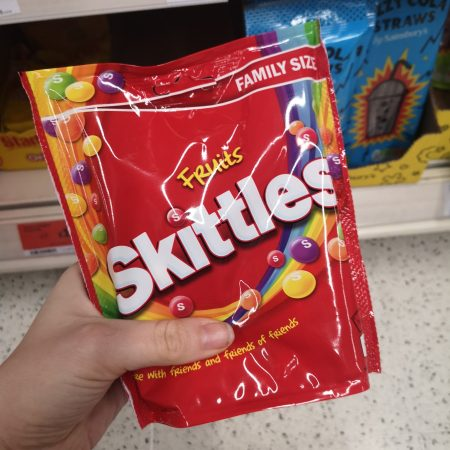 Skittles Fruits Sweets Family Size Pouch 196g