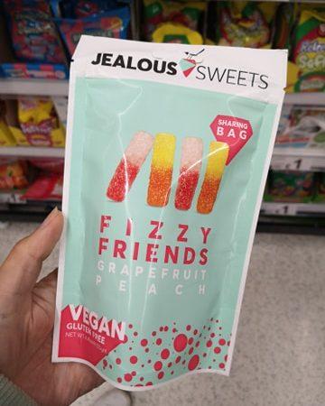 Jealous Sweets Fizzy Friends Grapefruit & Peach