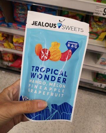 Jealous Sweets Tropic Wonder Mango, Melon, Pineapple & Grapefruit