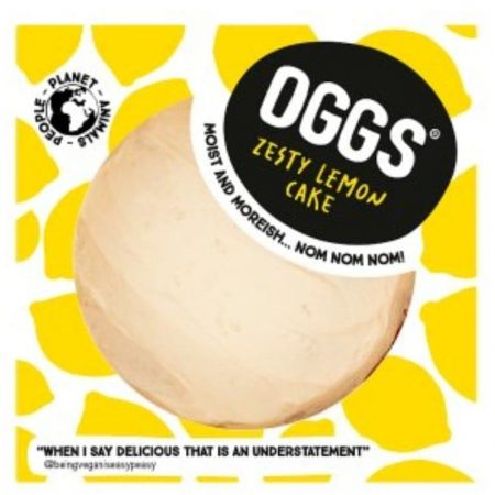 OGGS Zesty Lemon Cake