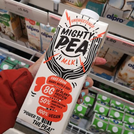 Mighty Pea Unsweetened Milk Alternative 1L