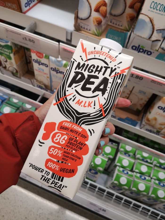 Mighty Pea Unsweetened Milk Alternative 1L