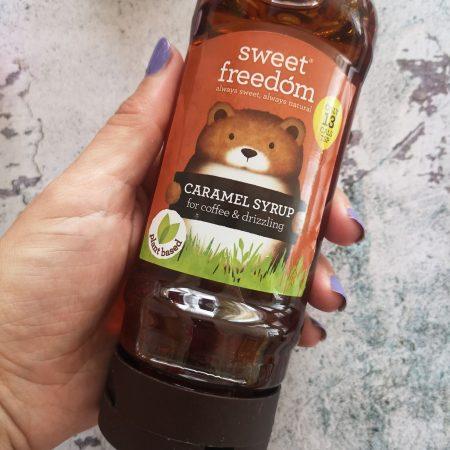 Sweet Freedom Caramel Syrup