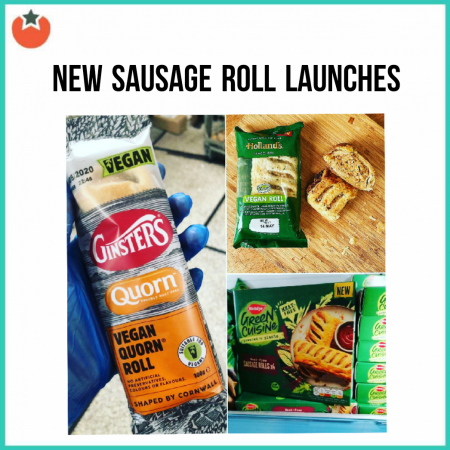 Recent Launches of Vegan Sausage Rolls in the UK Supermarkets