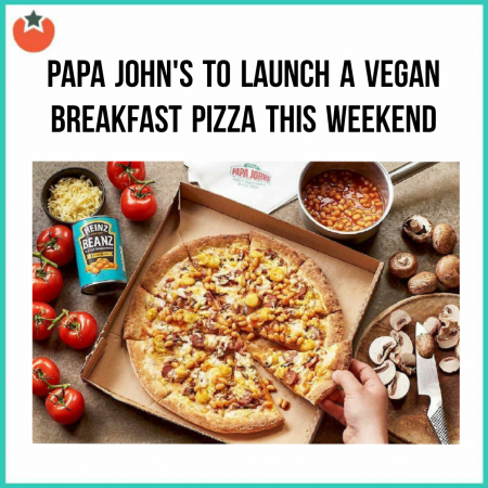New Vegan Breakfast Pizza Launches at Papa John's