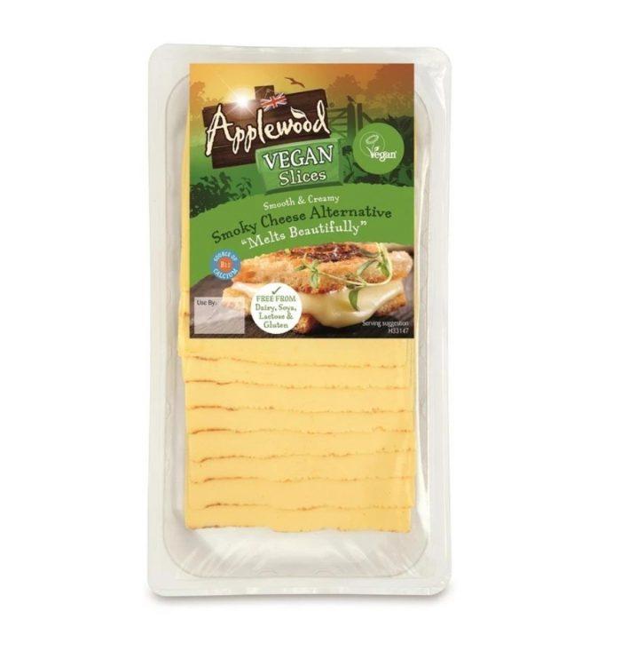 Applewood Vegan Slices Smoky Cheese Alternative 200g