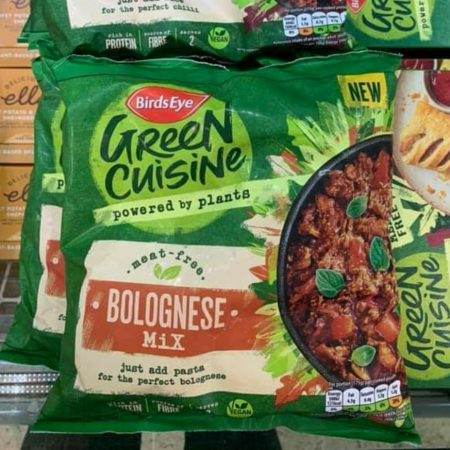 BirdsEye Green Cuisine Bolognese Mix
