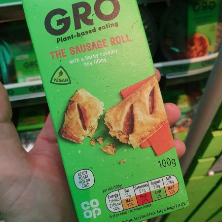 Gro The Sausage Roll 100g