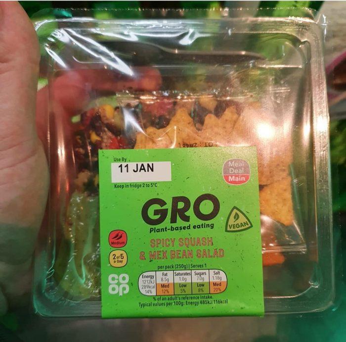 Gro Spicy Squash & Mex Bean Salad 250g