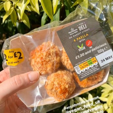 Morrisons Deli 4 Paella Bites 100g