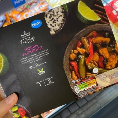 Morrisons The Best Hoisin Jackfruit 300g