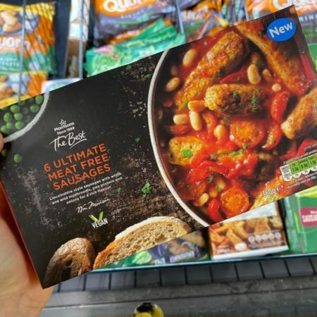Morrisons 6 Ultimate Meat Free Sausages 360g