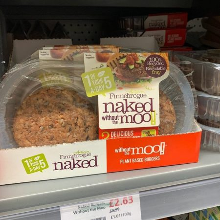 Naked Without The Moo Burgers
