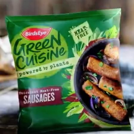 Birds Eye Green Cuisine Succulent Meat-Free Sausages 300g