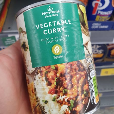 Morrisons Vegetable Curry 392g