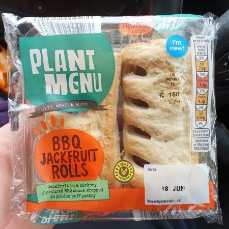 Plant Menu BBQ Jackfruit Rolls