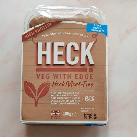 Heck Meat Free Sausages 400g