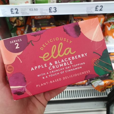 Deliciously Ella Apple & BlackBerry Crumble 275g