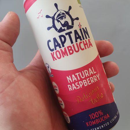 Captain Kombucha Natural Raspberry