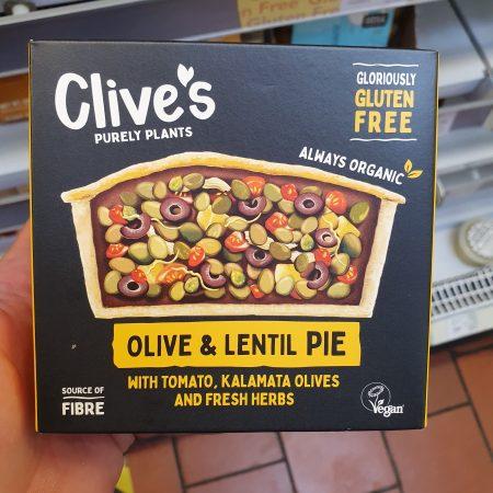 Clive's Olive & Lentil Pie 235g