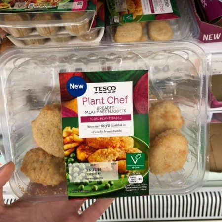 Tesco Plant Chef Breaded Meat Free Nuggets