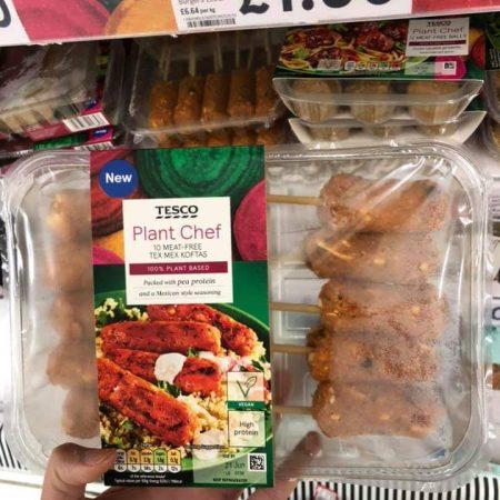 Tesco Plant Chef 10 Meat Free Tex Mex Koftas
