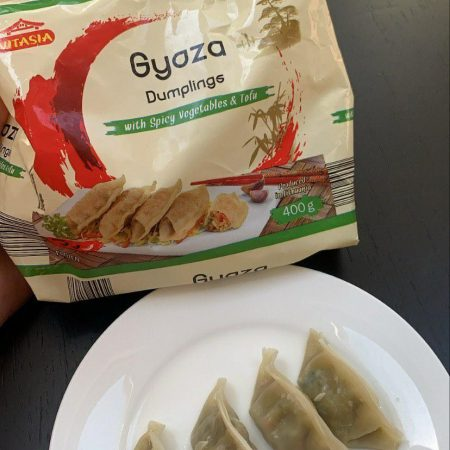 Gyoza Dumplings with Spicy Vegetables & Tofu