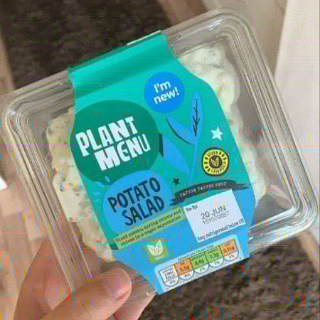 Plant Menu Potato Salad