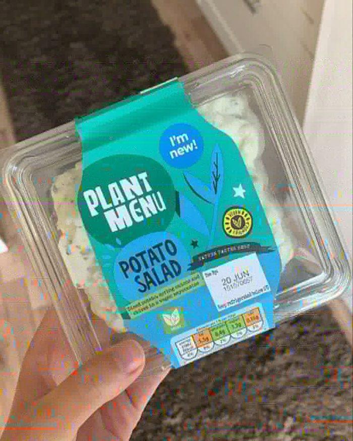 Plant Menu Potato Salad