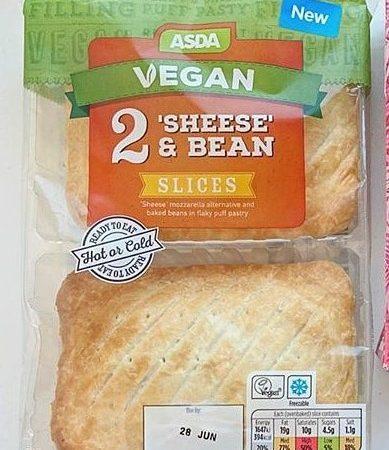 Asda Vegan 2 Sheese & Bean Slices