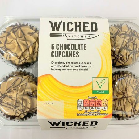 Wicked Kitchen 6 Chocolate Cupcakes