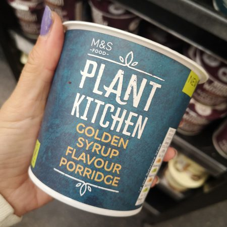 M&N Plant Kitchen Golden Syrup Flavour Porridge